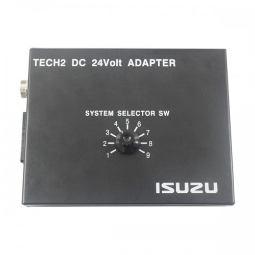 TECH2 DC 24Volt ISUZU Adapter
