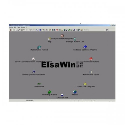 ELSAWIN 4.0 Newest version for Audi-VW-SKODA-SEAT send by CD