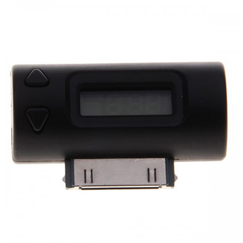 Wireless FM Transmitter+Car Charger for iPhone ipod MP3