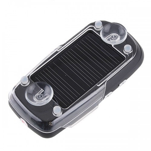 Solar Powered Bluetooth Car Kit Handsfree FM+MP3 Player