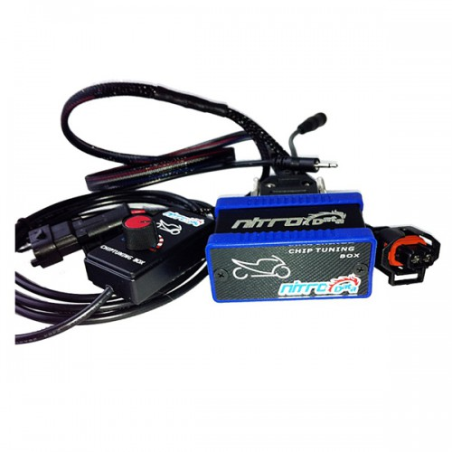 NitroData Chip Tuning Box for Motorbikers M8