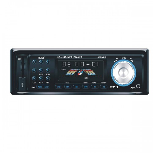 1*In-dash 1Din Car Audio Player With USB Port-SD Card Reader-Radio-MP3 DVD063