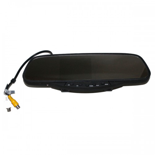 "REAR VIEW MIRROR WITH 3.5"" TFT AND CAMERA"