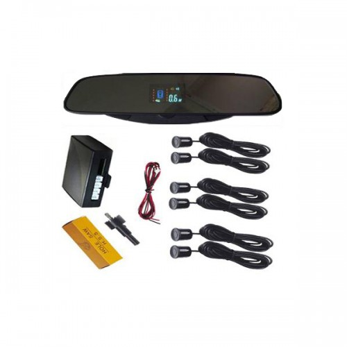 VFD Rearview Mirror LED Display Parking Sensor B