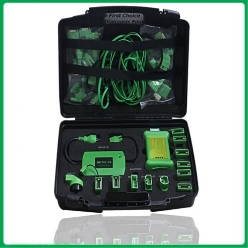 Diagnose tool scandiag box full set 2012.12