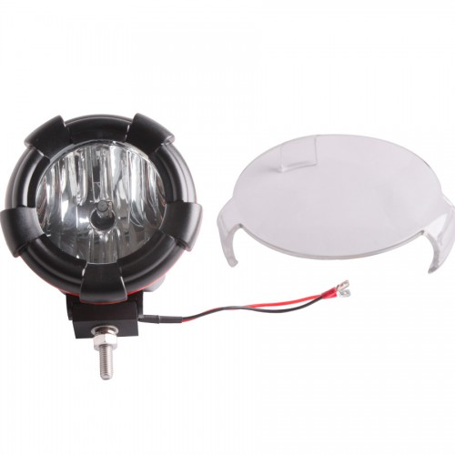 "2 PCS 4"" Inch HID XENON DRIVING SPOTLIGHTS/FLOODFLIGHTS OFF ROAD Lights 4x4 4WD 55W 12V 24V 6000K"