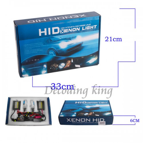 35W CANBUS BI-XENON H4 9004 9007 9003 HB2 HI-LO HID CONVERSION KIT BALLAST AC 12V Works With All Cars