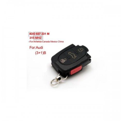 3+1 4D0 837 231 M 315MHZ For Audi Europe South America