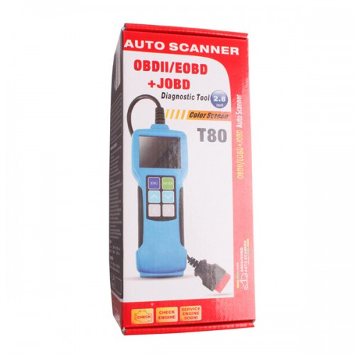 QUICKLYNKS T80 JOBD/OBD2/EOBD Color Display Auto Scanner For Japan Cars
