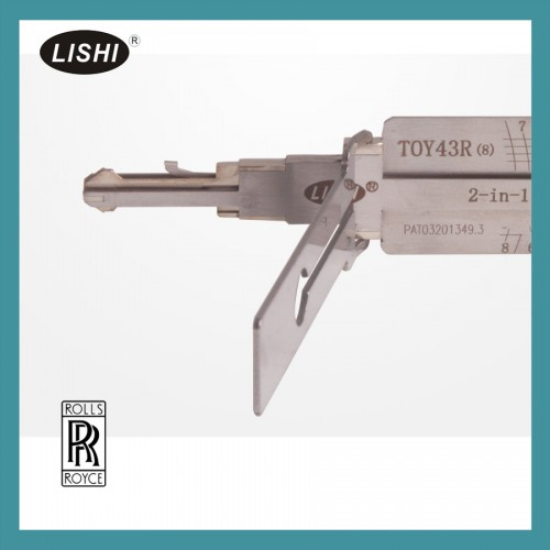 Lishi TOY43 2-in-1 Pick and Decoder (8 tooth) choose SL74