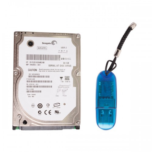 Super VCADS Hard Disk for Volvo D630 format and USB Dongle