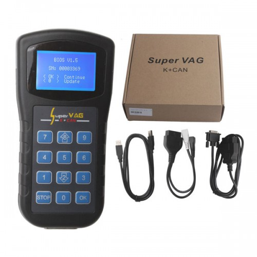Original Xhorse Super V-A-G K+CAN V4.6 Free shipping
