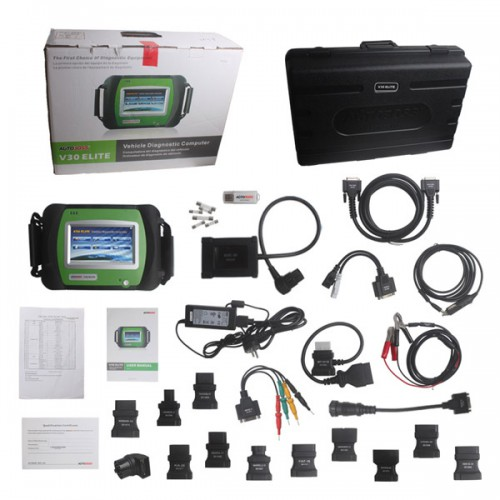 Original Universal AUTOBOSS V30 Elite Super Scanner update online (Choose HKSP260)