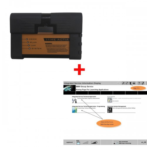 Lowest price ICOM A2 B C hardware for BMW plus 2015.3 software HDD