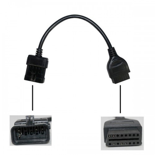 10Pin to OBD OBD2 16PIN for Opel