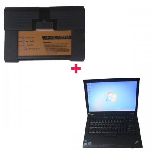 New ICOM A2+B+C with 2015.10 software HDD for BMW plus Lenovo T410 laptop save 14EUR