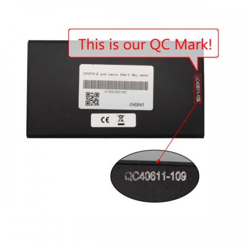 G Chip for Toyota and Smart Key Maker for Lexus With Chip Adapter