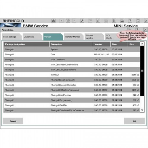2014.7 ICOM ISTA-D 3.44.10 ISTA-P 53.0.500 Software HDD for BMW Multi-language With Engineers Programming