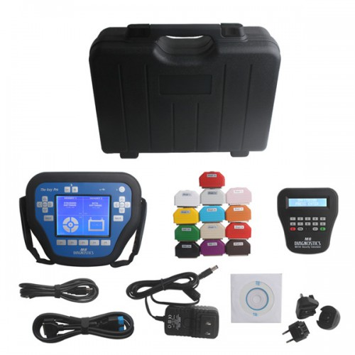 The key pro M8 key programmer plus VPC-100 PinCode Calculator DHL free shipping save 29EUR