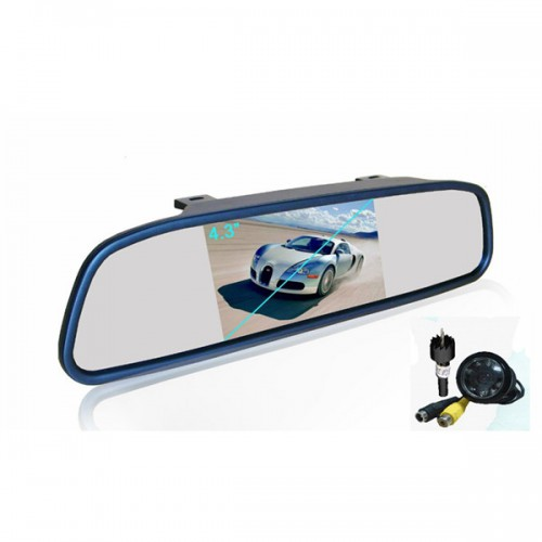 "New REARVIEW MIRROR WITH 4.3"" TFT AND CAMERA"