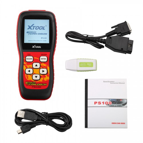 Promotion OBDII Can Scanner PS100 With Multiple Languages
