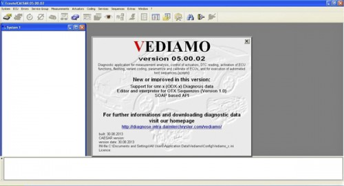 Vediamo V05.00.05 Development and Engineering Software for MB SD C4 Suitable for All Serial Numbers send by Email