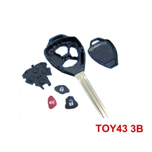 Key 3 Button 4D67 315MHZ for Toyota Camry