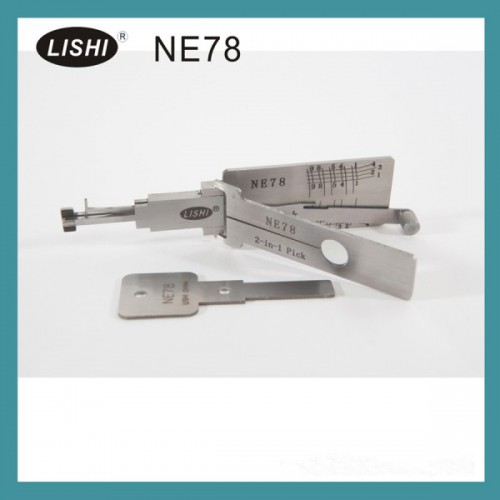 LISHI NE78 2-in-1 Auto Pick and Decoder For Peugeot
