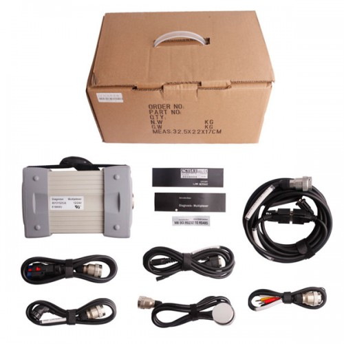 V2016.7 Mb Star C3 Pro with seven cable For MB Truck and Cars 12V and 24V