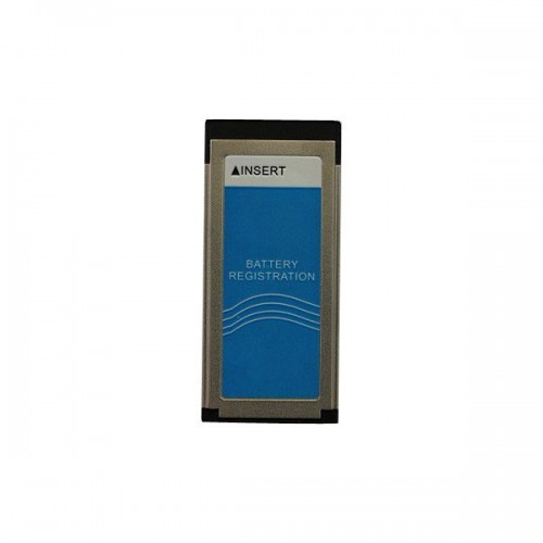 Battery Registration Card for Nissan consult-3 plus