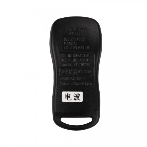 TIIDA Remote 3 Button (315MHZ) for Nissan 5 Pcs/lot