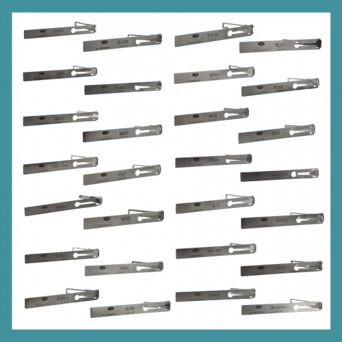 LISHI Series Lock Pick Set 28 in 1 (new add HU100R-2)
