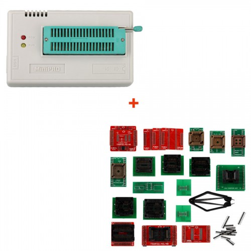 Super Mini Pro TL866A EEPROM Programmer with full 21 adapters by DHL/YANWEN Free Shipping