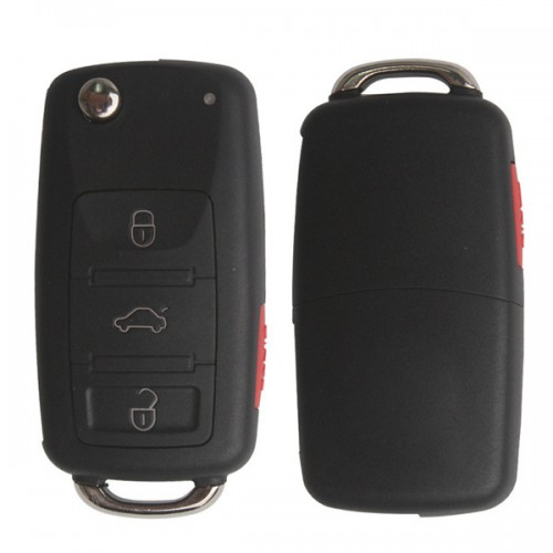 3 Button Remote Key 433MHZ with ID46 chip for VW Touareg 2008 Made In China