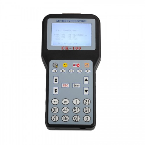 V46.02 CK-100 CK100 Auto Key Programmer with 1024 Tokens