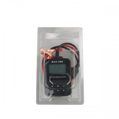 BAT-500 12V Auto Battery Tester with Portable Design