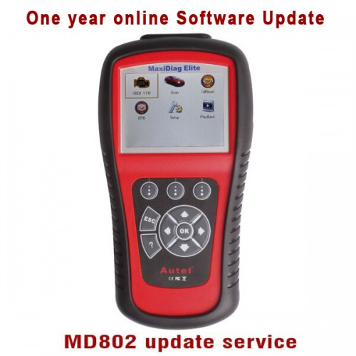 MD802 scanner One Year Software Online Update Service