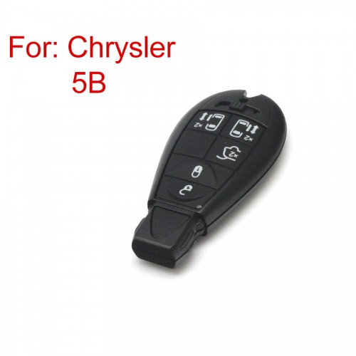 Smart Key Shell 5 Button for Chrysler