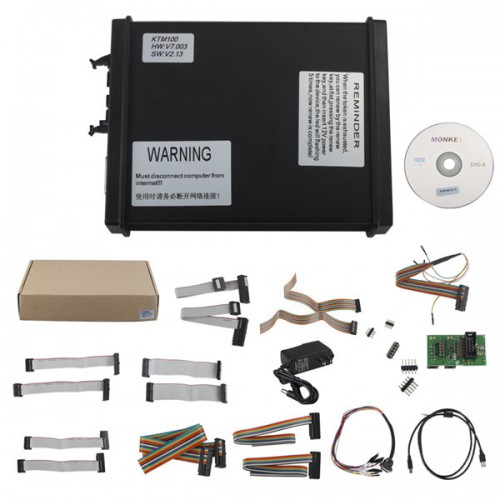 <b>(Flash Sale €203)</b> V2.13 K-TAG KTAG KTM100 FW V7.003 ECU Programming Tool Master Support one button click to charge token