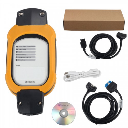 Vcads 88890180 (88890020 + yellow protection) Auto Diagnostic Interface for Volvo Renault Multi-languages