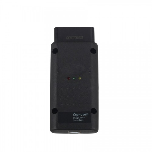 Firmware 1.70 Opcom OP-Com 2012V Can OBD2 Opel with PIC18F458 chip Support Cars till 2014