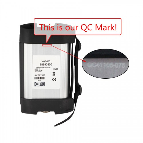 Volvo 88890300 Vocom Interface Support WIFI connection for Volvo/Renault/UD/Mack Truck Diagnose Best quality (Choose SH56)