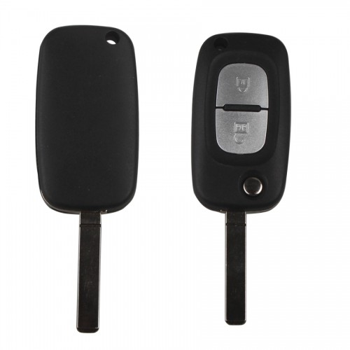 Folding remote key 2buttons 433MHZ For Renault