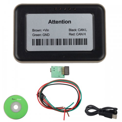 Truck Ad-blueobd2 Emulator 8-in-1 with Programming Adapter for Mercedes,MAN,Scania,iveco,DAF,Volvo, Renault and Ford