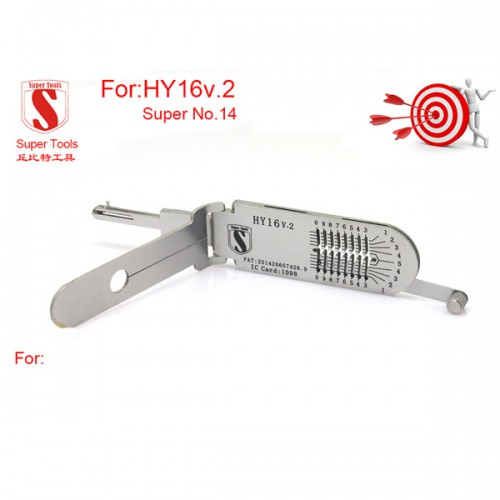 Super auto decoder and pick tool HY16 v.2 Free Shipping