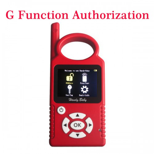 G Chip Copy Function Authorization for HANDY BABY Free Shipping