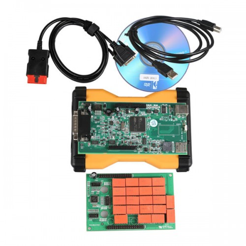 V2015.R3 MVDiag Diagnostic Tool with Software Without Bluetooth Free Shipping