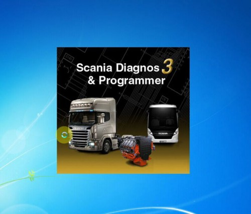 SDP3 V2.27 Software for SCANIA VCI2/VCI3 without USB Dongle