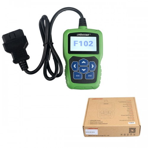 100% Original OBDSTAR F102 Auto Pin Code Reader  for Nissan/Infiniti with Immobiliser/Key Programmer/Odometer Function