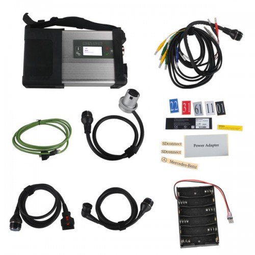 MB SD Connect Compact 5 Star Diagnosis with WIFI for Cars and Trucks Multi-Langauge Without Software HDD
